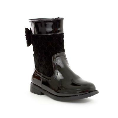Walkright Girls Black Calf Boot - Sizes 4,5,6,7,8,9,10,11,12,13