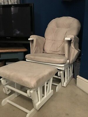 Kub Nursing Chair With Footstool