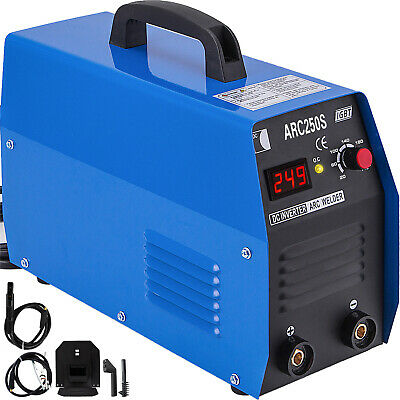 250Amp MMA Arc DC Inverter Welder Machine 110V/220V IGBT Dual Voltage UPDATED