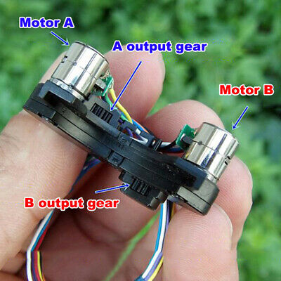 2-phase 4-wire Micro Mini 8mm Stepping Stepper Motor 9T Copper Gear DIY Camera