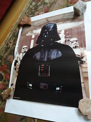 Set of Four Star Wars Empire Strikes Back Crisco Oil Promo 18 by 24 Posters 1980