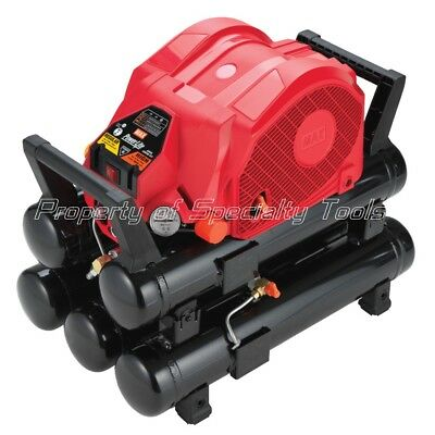 MAX USA AKHL1260EX high pressure air compressor for nailer pinner made in Japan