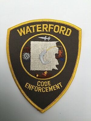 Waterford CODE ENFORCEMENT Police, Michigan shoulder patch