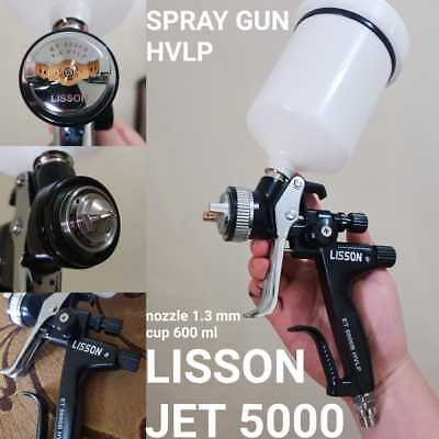 5000B HVLP car paint gun professional Gravity spray gun with 1.3mm nozzle, 600ml