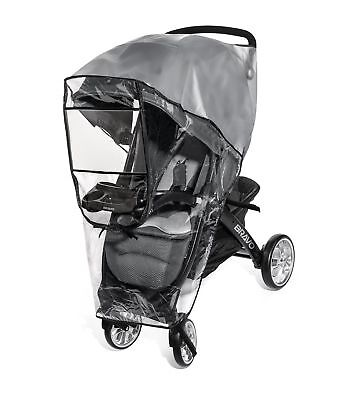 Premium Stroller Cover Weather Shield, Easy In/Out Zipper, Univ... Free Shipping