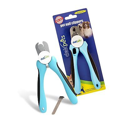 DakPets Dog Nail Clippers and Trimmer - Razor Sharp Blades, Saf... Free Shipping