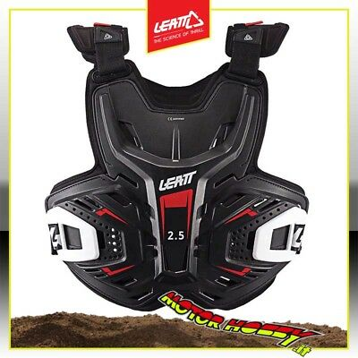 Pettorina Cross Enduro Mtb Leatt Chest Protector 2.5 Nero