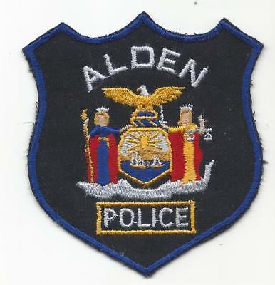 Alden NEW YORK NY Police patch OLD