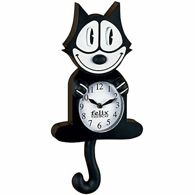 NJ Croce Felix The Cat Animated Wall Clock New Free Shipping  All Brand New