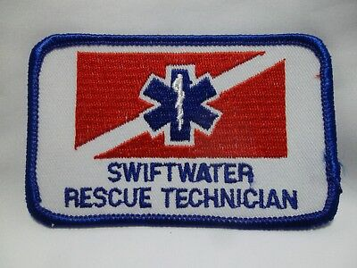 SWIFTWATER Rescue Technician Patch