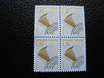 FRANCE - stamp yvert and tellier preoblitere n° 214 x4 n (tooth 13) (A24)