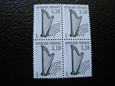 FRANCE - stamp yvert and tellier preoblitere n° 220 x4 n (tooth 13) (A24)