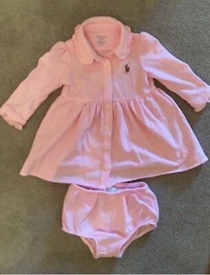 BNWOT Girls Ralph Lauren Dress 3 Months