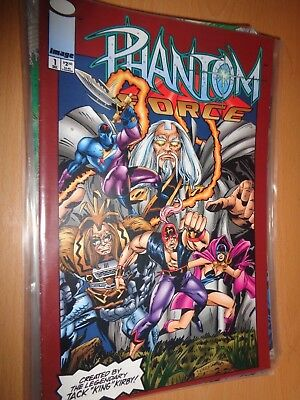 Phantom Force 1 Dec 1993 [Image comics] [With Trading Card]