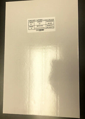 Polyester Laser Plate 13 x 19-3/8 double sided 10,000 impressions