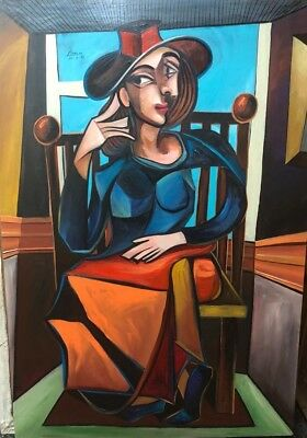 Signed Oil On Canvas Pablo Picasso painting
