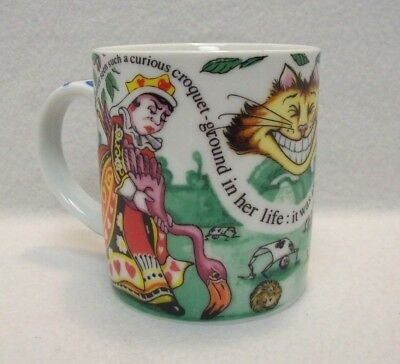 Collectible Alice In Wonderland Cafe 2010 Porcelain Cup Mug Paul Cardew England
