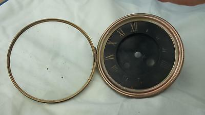 Antique French Black Clock Dial