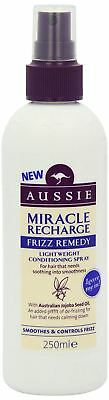 Aussie Miracle Recharge Frizz Remedy Lightweight Conditioning Spray 250ml