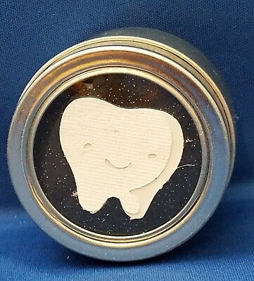 Handmade Metal Tooth Fairy Trinket Box Keepsake - Holds Teeth  Money Trade poem