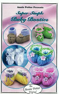 "Crochet baby booties pattern /""Super Simple Baby Booties/""  PDF Download"