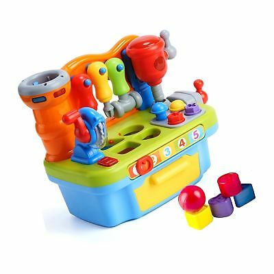 Woby Multifunctional Musical Learning Tool Workbench Toy Set fo... Free Shipping
