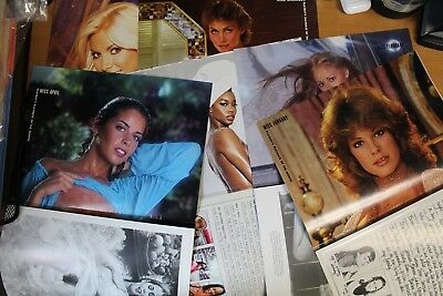 Playboy Magazine Centerfold Collection Pin-ups! Lot. Vary Years.