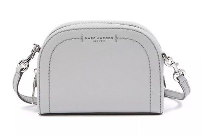 720744b413927 Authentic Marc Jacobs Playback Light Grey Saffiano Leather Crossbody Bag  $250