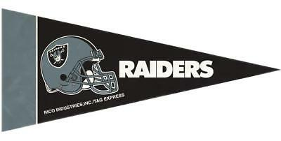 Oakland Raiders Mini Pennants 8 Count [NEW] NFL Wall Flag Banner Man Cave