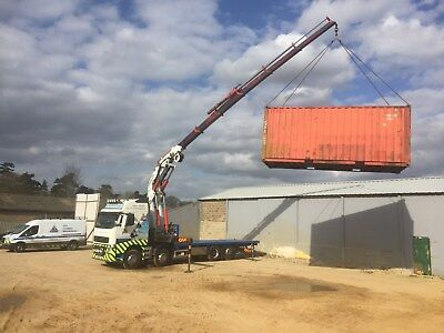 20ft container porta cabin movers
