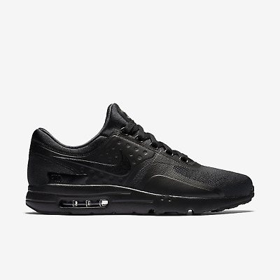 b824e73236c1 Nike Air Max Zero Essential Men s Running Shoe Size 13 876070-006 Triple  Black