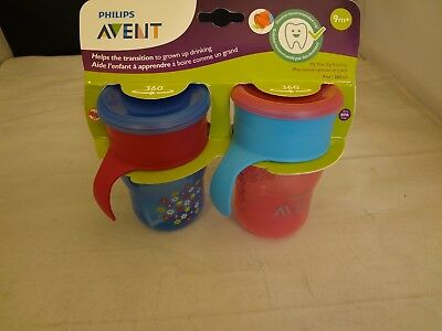 Philips Avent My Natural Drinking Toddler Cup, 9 Ounces, 2-Pack