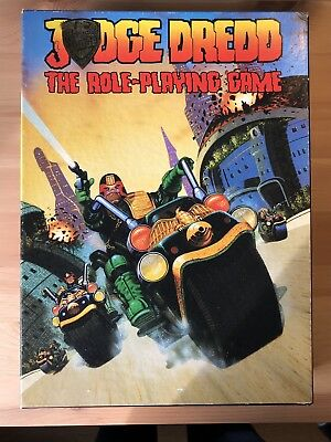 Judge Dredd, The Role Playing Game, boxed & complete, Games Workshop 1985
