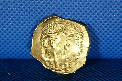 1295-1320 AD Byzantine Empire Gold Ancient Coin