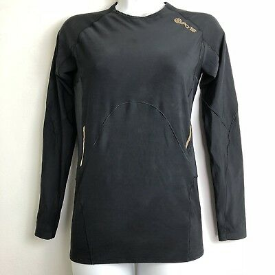 Skins Women's A400 Long Sleeve Compression Top Size M