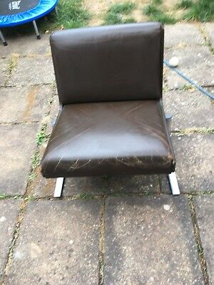 Robert Heritage Designed 1960's Leather Chair