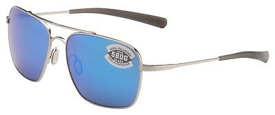 d9d15173c7 Costa Del Mar Canaveral Sunglasses CAN-21-OBMGLP Palladium 580G Blue  Polarized