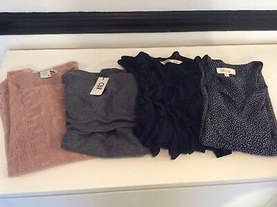 Lot Of 4 Womens Tops Vince Camuto Old Navy American Rag CBR