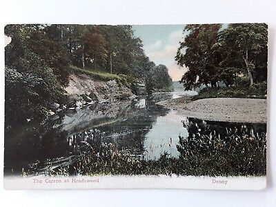 Postcard Stirlingshire  The Carron at Headswood  Denny. Posted 1906.