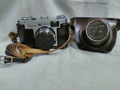 Vintage Brumberger 35mm DSK Rangefinder Camera In Case