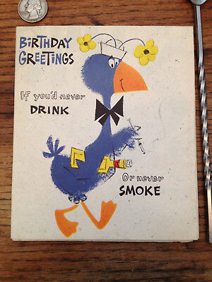 Birthday Card Funny Comical Friend Mom Dad Brother Sister Cousin