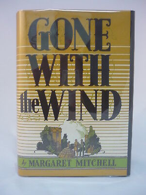 Gone With the Wind Margaret Mitchell  1937 1st Edition Early Printing Civil War