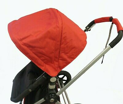 Red Canopy Sun Shade Wires Seat Basket for Bugaboo Cameleon 1 2 3 Frog Strollers