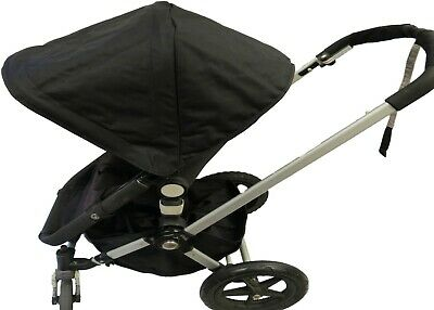 Black Canopy Shade Wire Seat Liner Basket for Bugaboo Cameleon 123 Frog Stroller