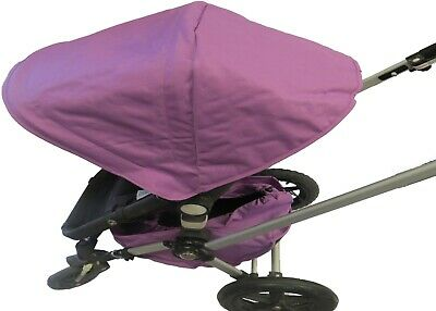 Purple Canopy Sun Shade Wires & Basket for Bugaboo Cameleon 1 2 3 Frog Strollers
