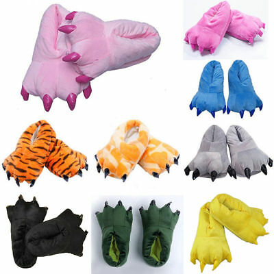 Adult Cartoon Animal Claw Shoes Cosplay Unisex  Home Indoor Cosplay Slippers