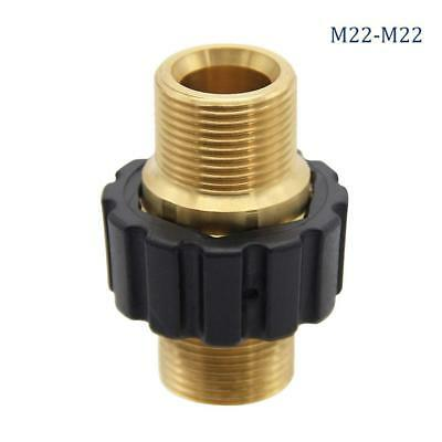 Twinkle Star Pressure Washer Hose Quick Connector, M22 Metric Male Thread
