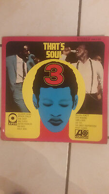 Vinyl/ LP/ Schallplatte: That´s Soul 3 1968 ATLANTIC KMLP 301