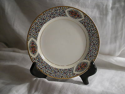Antique Bread & Butter Plate, Haviland China Limoges, Fantaisie Pattern, Floral