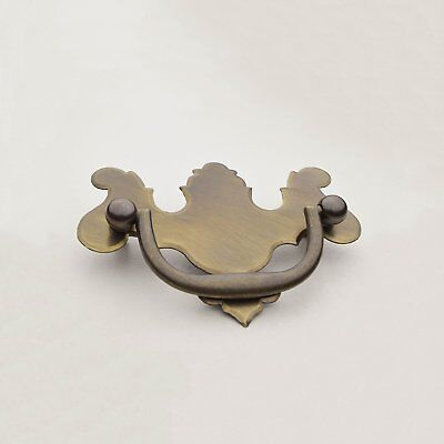 """CB-4 2-1/2"""" Solid Brass Chippendale Drawer Pull"""